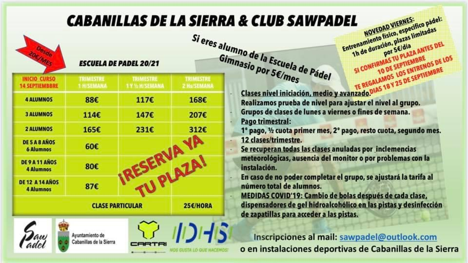 Cabanillas Saw Padel