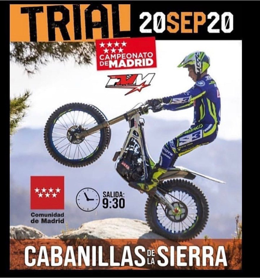 Campeonato Madrid Trial Sep 2020